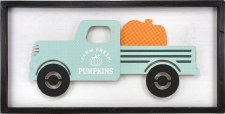Project Box 9.12: Fresh Pumpkins Truck Sign
