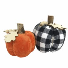 Project Box 9.19: Puffy Fabric Pumpkins