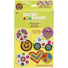 Perler Beads Kit- Peace and Love