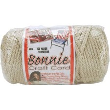 Bonnie 6mm Craft Cord- Pearl