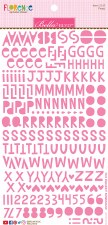 Florence Alphabet Stickers- Peep