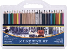 ProArt Multi Media Pencil Set, 36ct