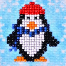 Diamond Facet Art Starter Kit- Penguin Waddle