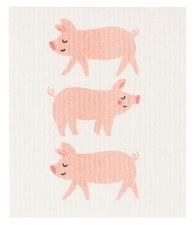 Swedish Dishcloth- Penny Pig