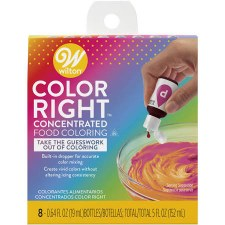 Color Right Food Coloring, 8ct