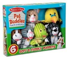 Melissa & Doug Hand Puppets- Pet Buddies