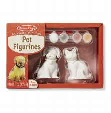 Melissa & Doug Decorate Your Own- Figurines, Pet