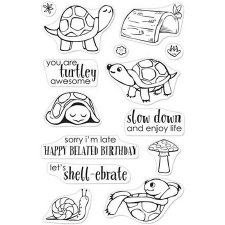 Hero Arts Clear Stamp Set- Pet Turtle