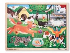 Melissa & Doug Jigsaw Puzzle- Pets 24 pc