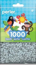 Perler Beads 1000 piece- Pewter