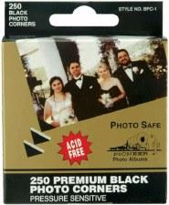 Photo Corners, 250ct- Black