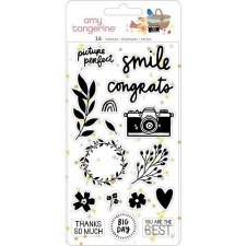Amy Tangerine Picnic in the Park Clear Stamps