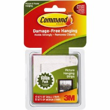 Command Picture Hanging Strips, 12ct