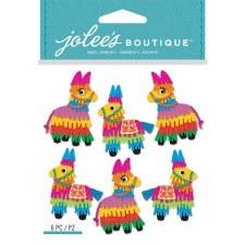 Jolee's Birthday Dimensional Stickers- Pinatas