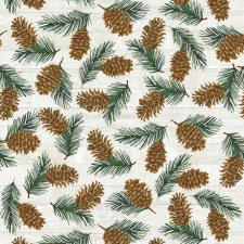 Pinecone Lodge Bolted Flannel- Pinecones
