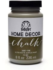 FolkArt Home Decor Chalk Paint 8 oz- Pine