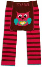Baby Leggings, Owl- 12-24m