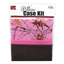 Pillowcase Kit- Camo & Pink
