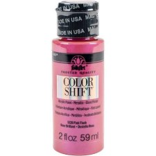 FolkArt Color Shift Metallic Acrylic Paint, 2oz- Pink Flash