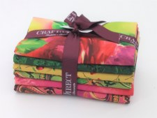 Fat Quarter Bundle- Paisley, Pink