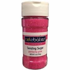 Sanding Sugar, 4oz- Pink