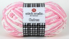 Chateau Yarn- Pink/White