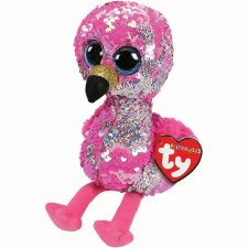 Beanie Flippable Sequins Collection- Pinky