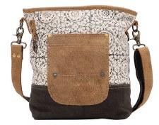 Myra Shoulder Bag- Pivot Print