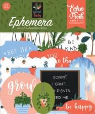 Plant Lady Ephemera Die Cuts