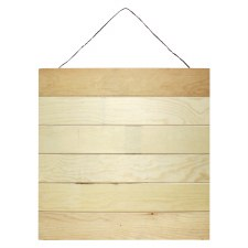 """17""""X17"""" Wood Hanging Pallet"""