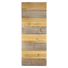 "11.75""X29.75"" Natural Wood Pallet Plaque"