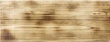 "Wood Burned Plaque, 11.5"" x 30"""