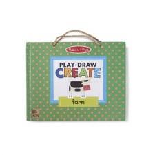 Melissa & Doug Play, Draw, Create- Farm