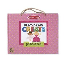 Melissa & Doug Play, Draw, Create- Princess