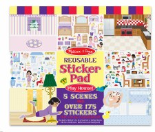 Melissa & Doug Reusable Sticker Pad- Let's Play House!