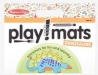 Melissa & Doug Playmats- Dinosaurs