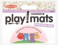 Melissa & Doug Playmats- Fashion Fun