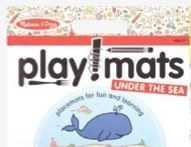 Melissa & Doug Playmats- Under the Sea