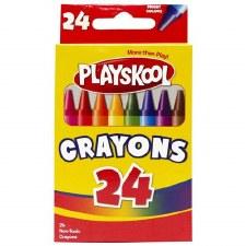 Playskool Crayons, 24ct