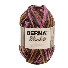 Bernat Blanket Yarn- Plum Chutney