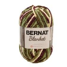 Bernat Blanket Yarn- Plum Fields