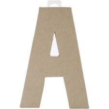 "8"" Paper Mache Letter- A"