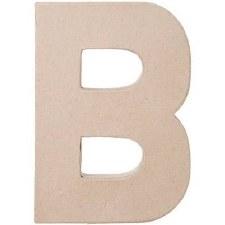 """8"""" Paper Mache Letter- B"""