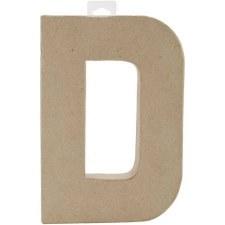 """8"""" Paper Mache Letter- D"""