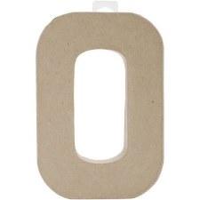 """8"""" Paper Mache Letter- O"""