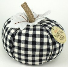 Nicole's Pumpkin Patch- Black & White Gingham
