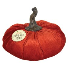 Nicole's Pumpkin Patch- Velvet Dark Orange