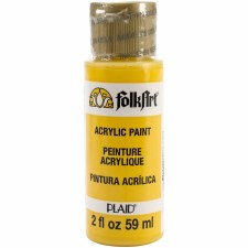 FolkArt 2 Oz. Acrylic Paint- Podge Yellow