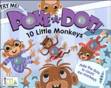 Poke-A-Dot! Book- 10 Little Monkeys