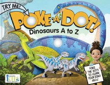 Poke-A-Dot! Book- Dinosaurs A to Z